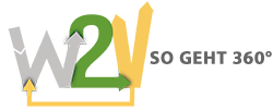 Logo Waste to Value So geht 360 Grad